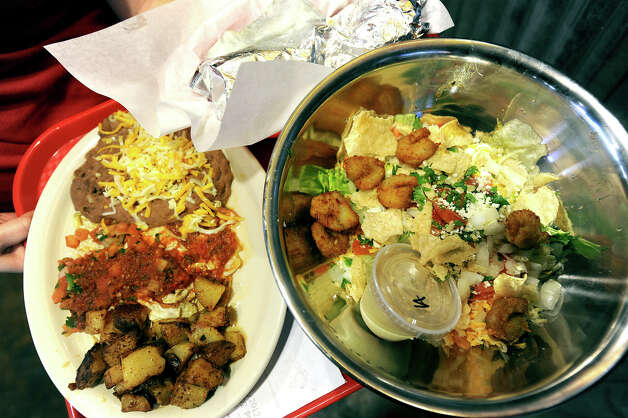 24. Fuzzy's Tacos,5655 Eastex Freeway.The grilled shrimp tacos are popular with TripAdvisor reviewers, who say the prices are reasonable and the food is fresh. Photo: Guiseppe Barranco, STAFF PHOTOGRAPHER / The Beaumont Enterprise