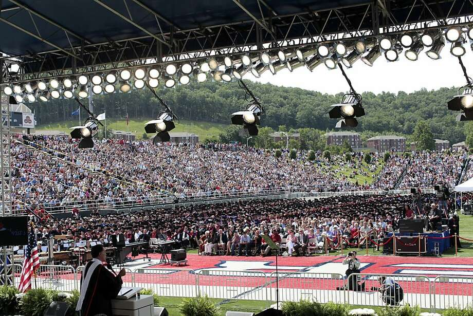 School: Liberty University (VA)Population: 46,133Source: US News Photo: Jared Soares, Getty Images