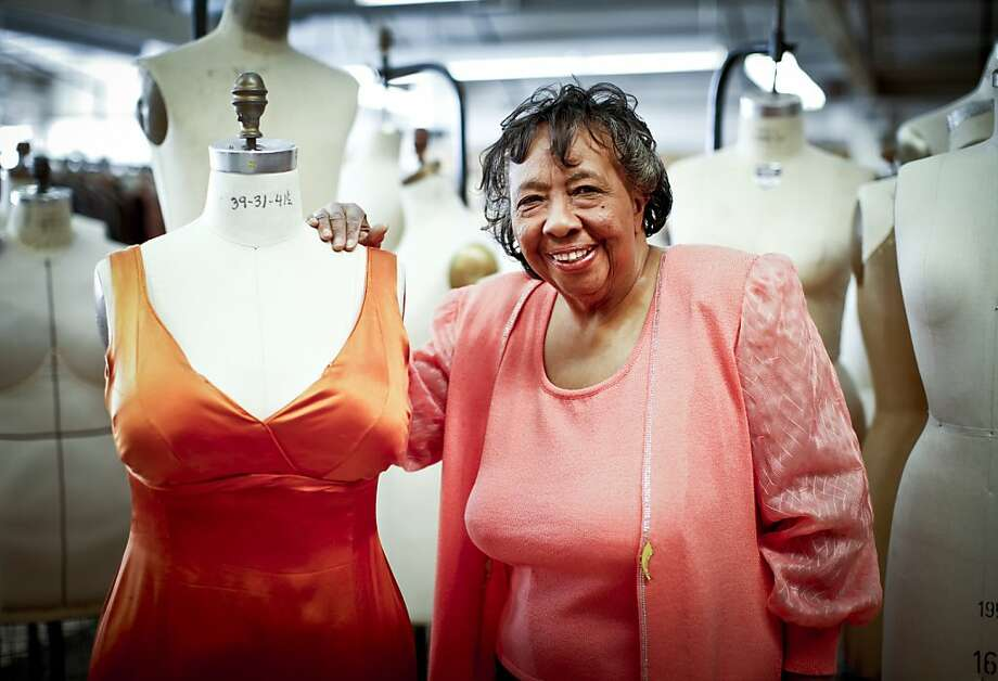 "San Francisco Opera board member Sylvia Lindsey is seen in the Opera's costume shop with Bess' dress from one of her favorite operas, ""Porgy and Bess,"" on Friday, April 13, 2012 in San Francisco, Calif. Photo: Russell Yip, The Chronicle"
