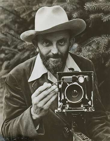 Ansel Adams in 1948. Photo: Houghton Mifflin Co., Chronicle File