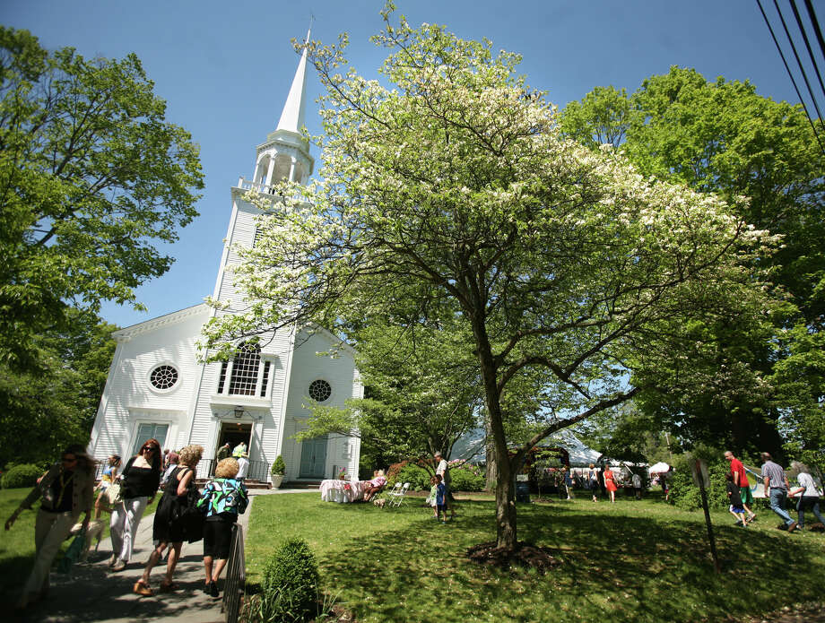 """Connecticut foresters explore Fairfield's trees in """"Roots to Branches: Past, Present & Future of Fairfield's Urban Forest"""" at the Audubon Society on Saturday. Find out more. Photo: Brian A. Pounds / Connecticut Post"""