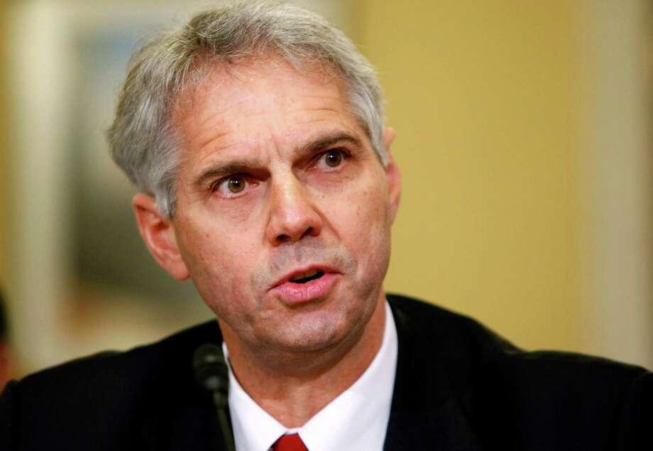 Secret Service Director Mark Sullivan, shown in 2009, will go before a Senate panel May 23. Photo: Associated Press File Photo