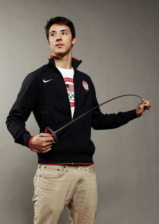 DALLAS, TX - MAY 13:  Fencer, Alexander Massialas poses for a portrait during the 2012 Team USA Media Summit on May 13, 2012 in Dallas, Texas. Photo: Nick Laham, Getty Images / 2012 Getty Images