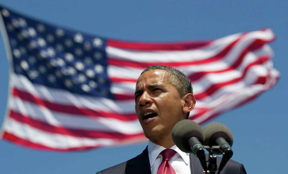 President Barack Obama hopes military families can help guide him to a second term. Photo: Carolyn Kaster, Associated Press