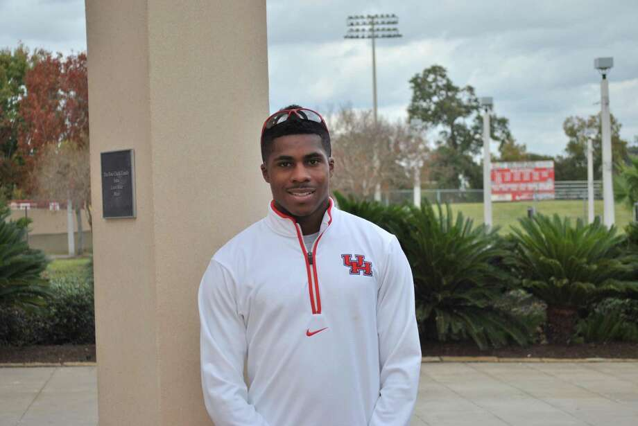 Errol Nolan - University of Houston track and field sprinter Photo: UH / handout