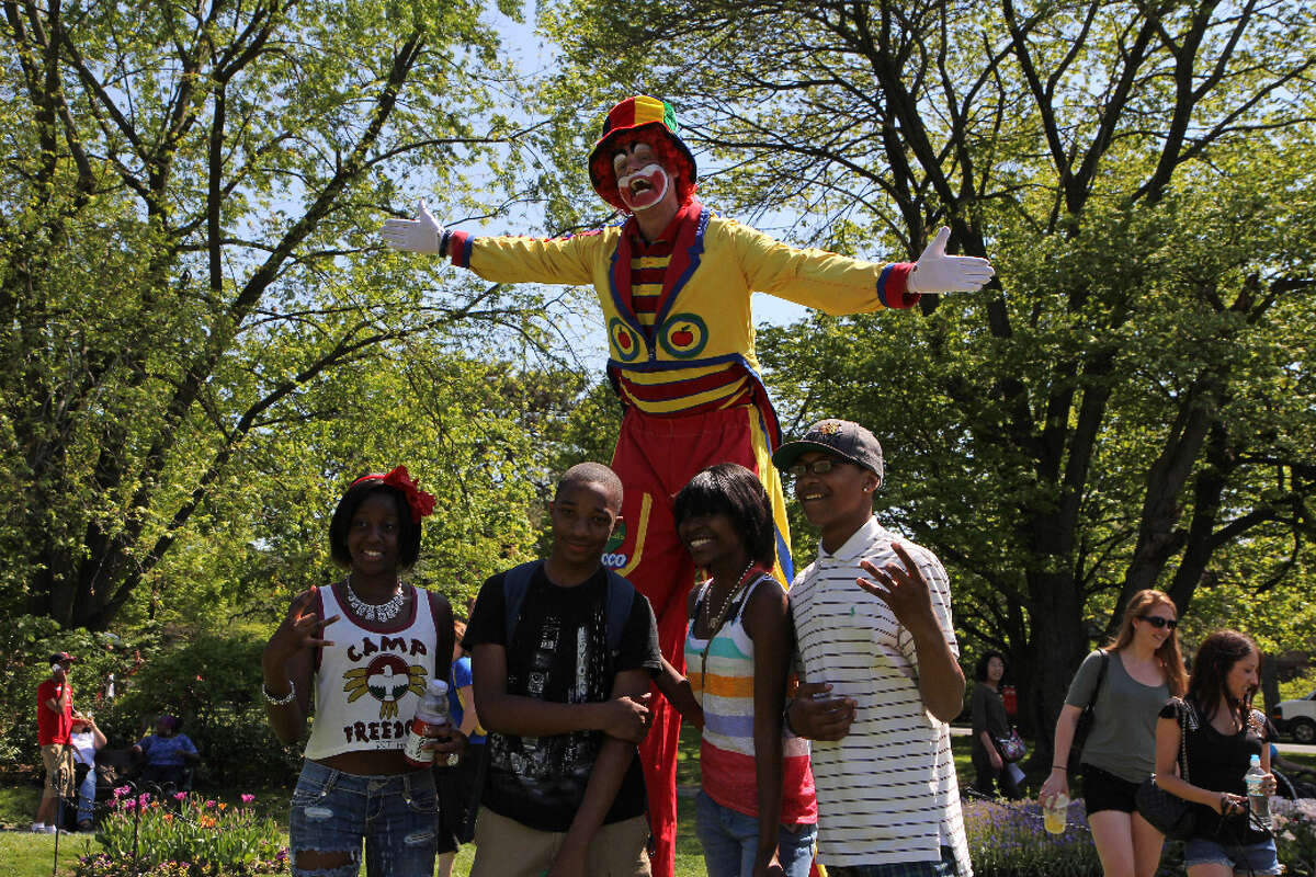 Were You Seen at the 64th Annual Albany Tulip Festival in Washington Park on Saturday, May 12, 2012?