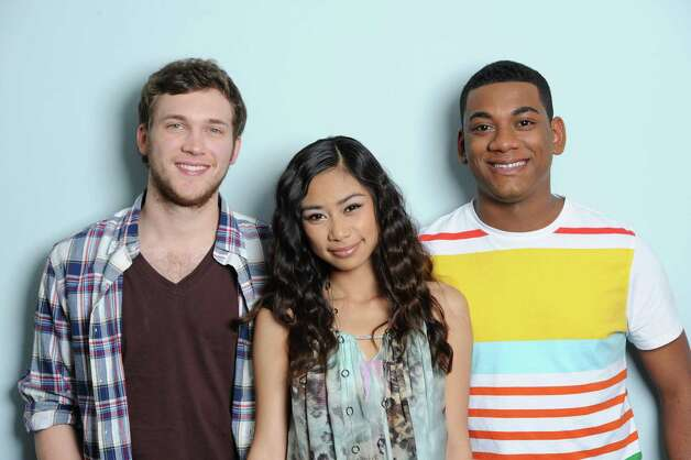 "In this May 10, 2012 photo released by Fox, the final three contestants from the singing competition series ""American Idol,"" from left, Phillip Phillips, Jessica Sanchez and Josh Ledet pose in Los Angeles. (AP Photo/Fox, Michael Becker) Photo: Michael Becker, HONS"