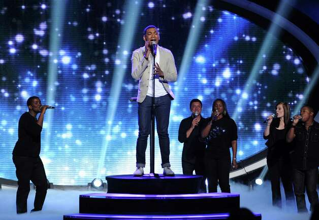 "In this May 9, 2012 photo released by Fox, contestant Josh Ledet performs on the singing competition series ""American Idol,"" in Los Angeles. (AP Photo/Fox, Michael Becker) Photo: Michael Becker, HONS"