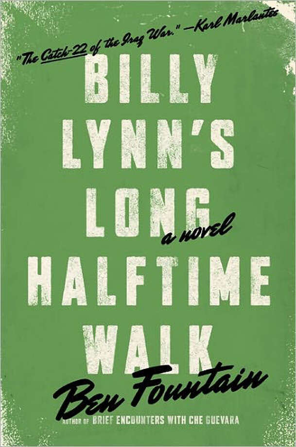 """Billy Lynn's Long Halftime Walk"" Photo: Ben Fountain"