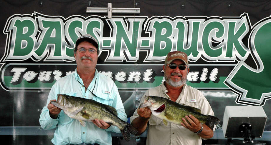 Brothers James & Jim Bryant caught the biggest sack of the day weighing 22.75 lbs for a 1st place finish.  Their kicker, 7.14 lbs, also won Big Bass honors  photo by Patty Lenderman / Lakecaster