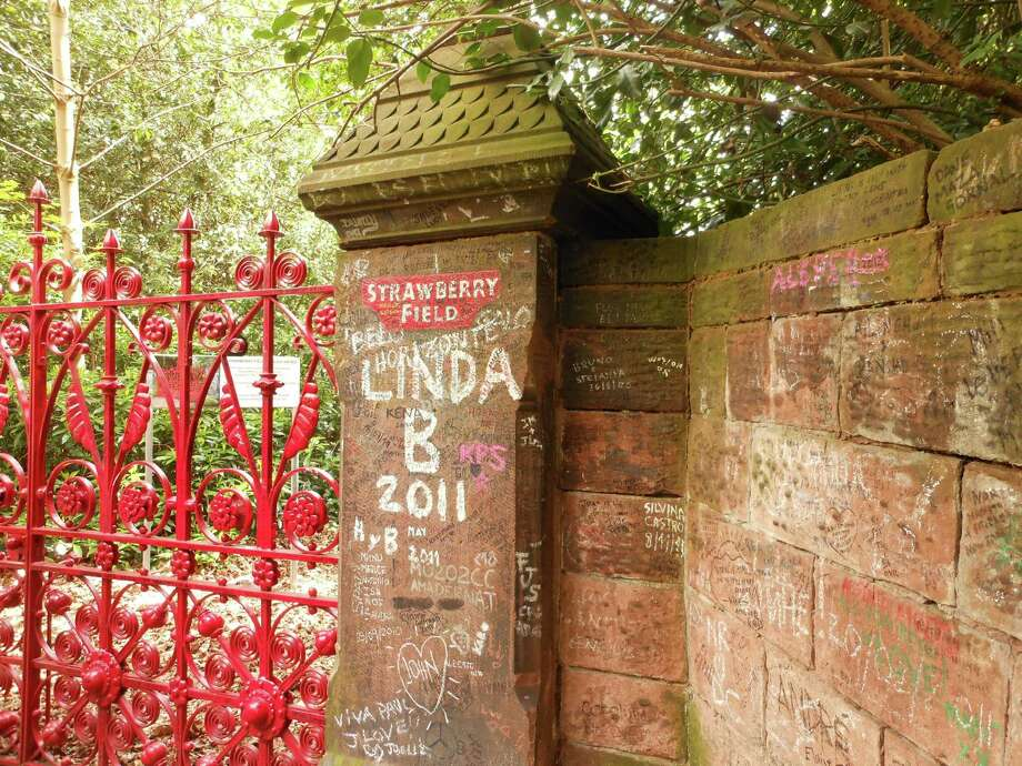 """Liverpool's Strawberry Field home for children - or as John Lennon's lyrics call it, """"Fields"""" - is closed to the public. Photo: Ken Hoffman"""