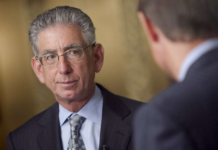 Phil Angelides, chairman of the Financial Crisis Inquiry Commission, speaks to Bloomberg anchor Peter Cook during an interview in Washington, D.C., on Thursday, Sept. 2, 2010. Federal Deposit Insurance Corp. Chairman Sheila Bair and Federal Reserve Chairman Ben S. Bernanke testified in the second day of FCIC hearings on why the government let New York-based Lehman Brothers Holdings Inc. fail during the credit crisis while assisting takeovers of firms including Wachovia Corp. and Bear Stearns Cos. Photographer: Andrew Harrer/Bloomberg *** Local Caption *** Phil Angelides; Peter Cook Photo: Andrew Harrer