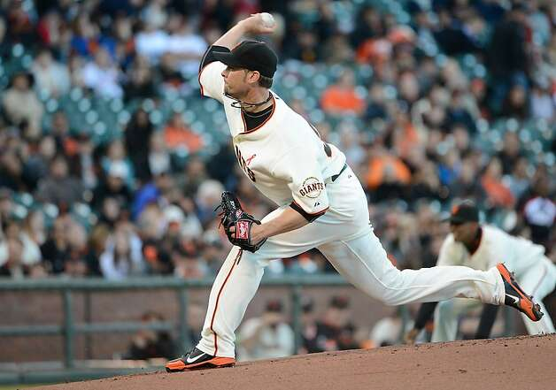 SAN FRANCISCO, CA - MAY 14:  Ryan Vogelsong #32 of the San Francisco Giants pitches against the Colorado Rockies at AT&T Park on May 14, 2012 in San Francisco, California.  (Photo by Thearon W. Henderson/Getty Images) Photo: Thearon W. Henderson, Getty Images