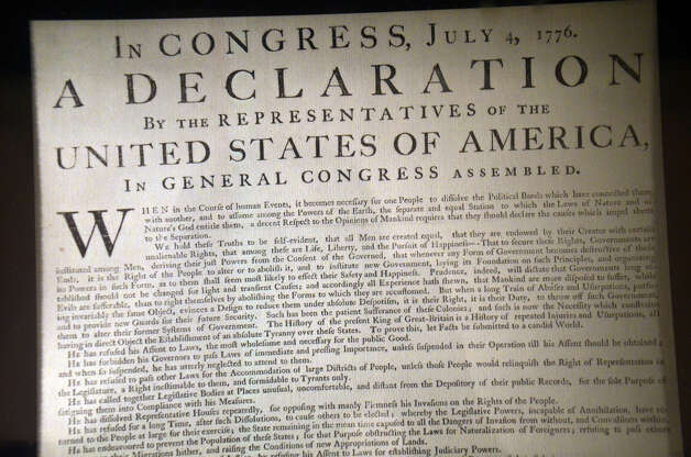 Q: Who wrote the Declaration of Independence? Photo: Flickr.com