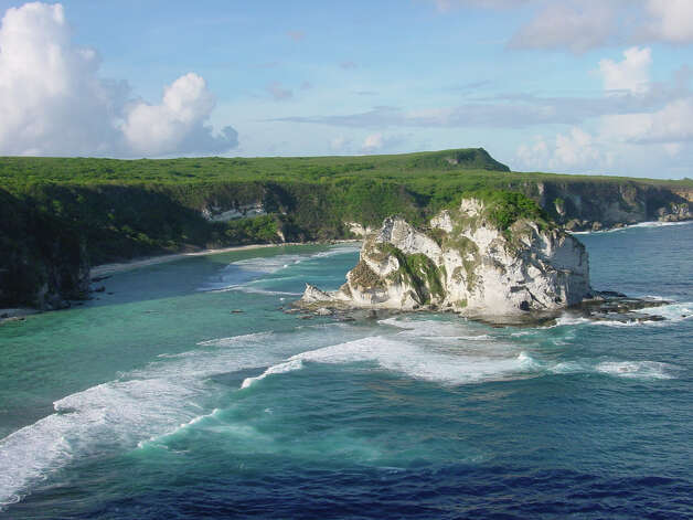 A: Eastern Mariana Islands (pictured above of Saipan in the Northern Mariana Islands) Photo: Flickr.com