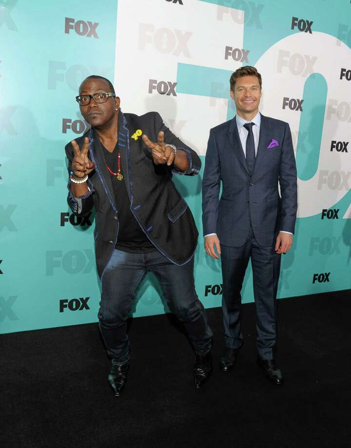 NEW YORK, NY - MAY 14:  Randy Jackson and Ryan Seachrist attends the Fox 2012 Programming Presentation Post-Show Party at Wollman Rink - Central Park on May 14, 2012 in New York City. Photo: Dave Kotinsky, Getty Images / 2012 Getty Images