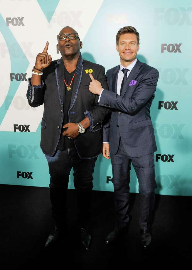 NEW YORK, NY - MAY 14:  Randy Jackson and Ryan Seacrest attend the Fox 2012 Programming Presentation Post-Show Party at Wollman Rink - Central Park on May 14, 2012 in New York City. Photo: Dave Kotinsky, Getty Images / 2012 Getty Images