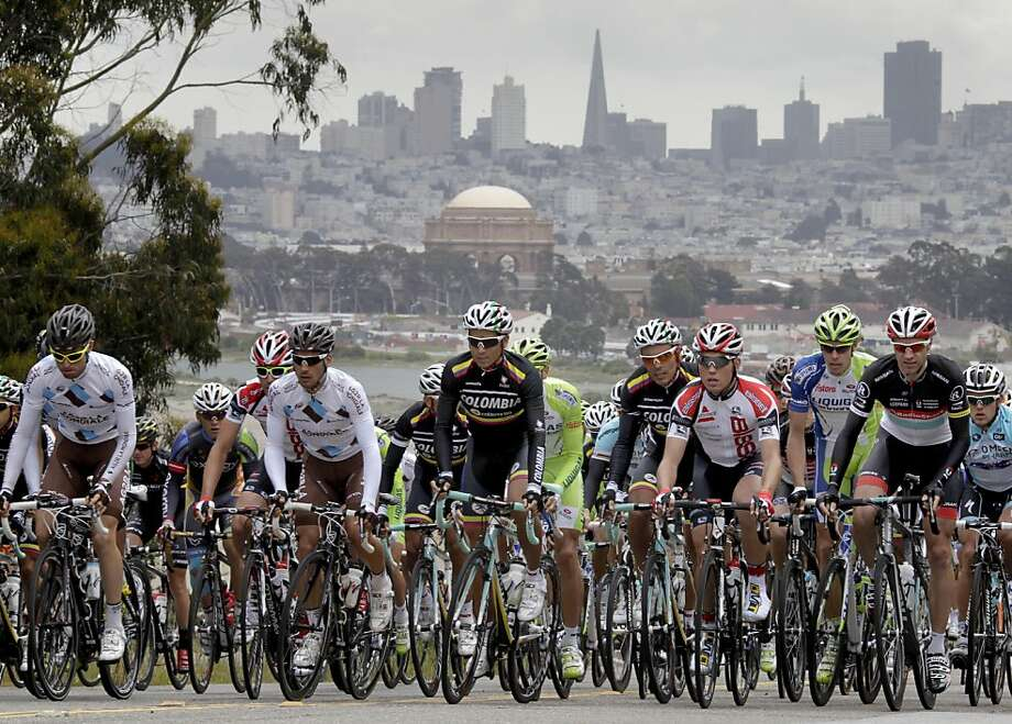 For the first time in 2013, the Tour of California will begin in Southern California. It will include a stop in San Francisco. Photo: Brant Ward, The Chronicle