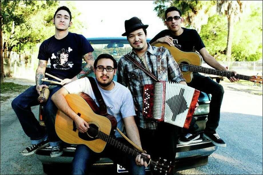 San Antonio band Piñata Protest is one of the progressive bands playing the 2012 Tejano Conjunto Festival. Photo: Piñata Protest