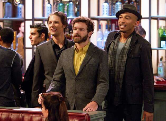 "Michael Cassidy (from left) Danny Masterson and James Lesure star in the new TBS sitcom ""Men at Work."" Photo: TBS / ONLINE_YES"
