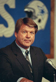 Dallas Cowboys coach Jimmy Johnson is seen, 1989.  (AP Photo) Photo: Anonymous, STF
