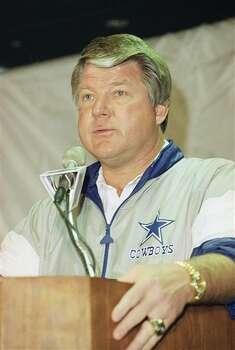 Jimmy Johnson, Dallas Cowboys head coach in 1993. (AP Photo) / AP1993