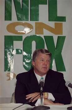 Jimmy Johnson, Former coach of Dallas Cowboys in April 1994. (AP Photo/Ed Bailey) Photo: Ed Bailey, STF / AP1994
