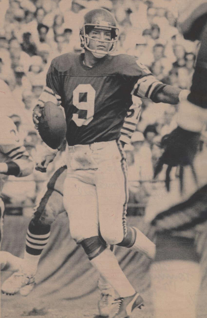 Vikings quarterback Tommy Kramer