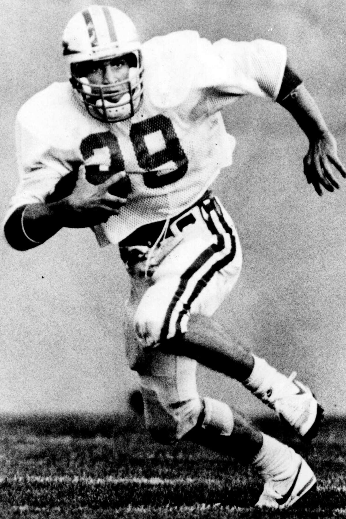 Scott Thomas at Air Force, returning a kick in the mid-1980's.