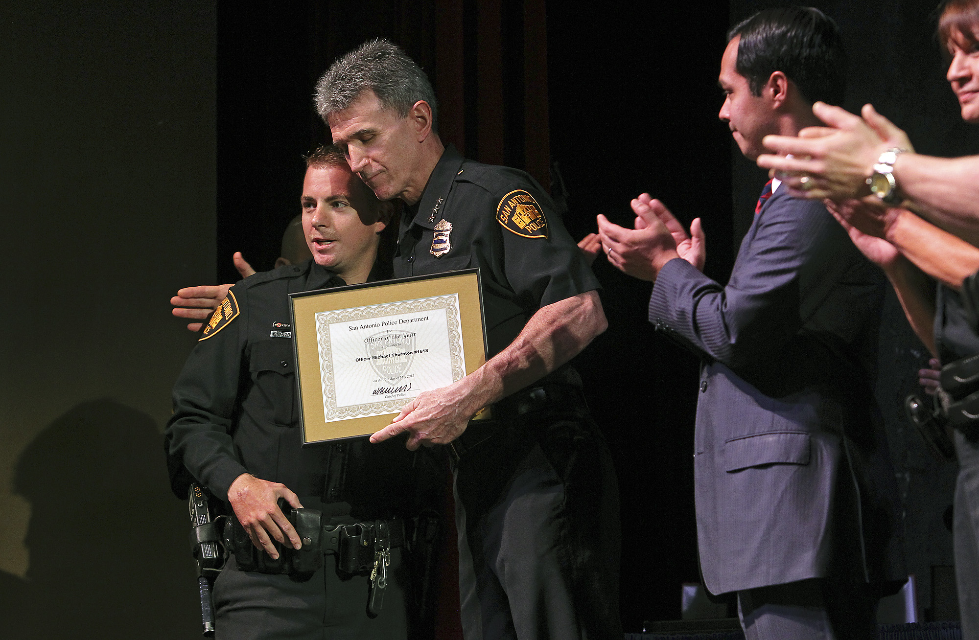 RoboCop' leads list of SAPD honorees - San Antonio Express-News