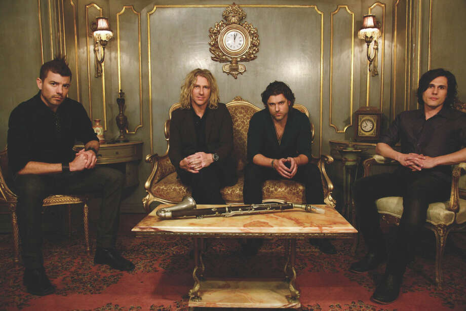 It's time for Collective Soul to perform in Connecticut. The band will be at Ridgefield Playhouse on Tuesday, May 22. Photo: Contributed Photo