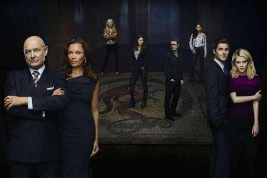 "666 PARK AVENUE - ""666 Park Avenue"" stars Rachael Taylor as Jane Van Veen, Dave Annable as Henry Martin, Robert Buckley as Brian Leonard, Mercedes Masšhn as Louise Leonard, Helena Mattsson as Alexis Blume, Samantha Logan as Nona Clark, with Vanessa Williams as Olivia Doran and Terry O'Quinn as Gavin Doran. Based on the book series by Gabriella Pierce, ""666 Park Avenue"" was written by David Wilcox, who is also an executive producer along with Matthew Miller, Leslie Morgenstein, Gina Girolamo and Alex Graves. The pilot for ""666 Park Avenue"" was directed by Alex Graves. ""666 Park Avenue"" is from Bonanza Productions Inc. in association with Alloy Entertainment and Warner Bros. Television. (ABC/ANDREW ECCLES) TERRY O'QUINN, VANESSA WILLIAMS, HELENA MATTSSON, MERCEDES MASOHN, ROBERT BUCKLEY, SAMANTHA LOGAN, DAVE ANNABLE, RACHAEL TAYLOR (ABC)"