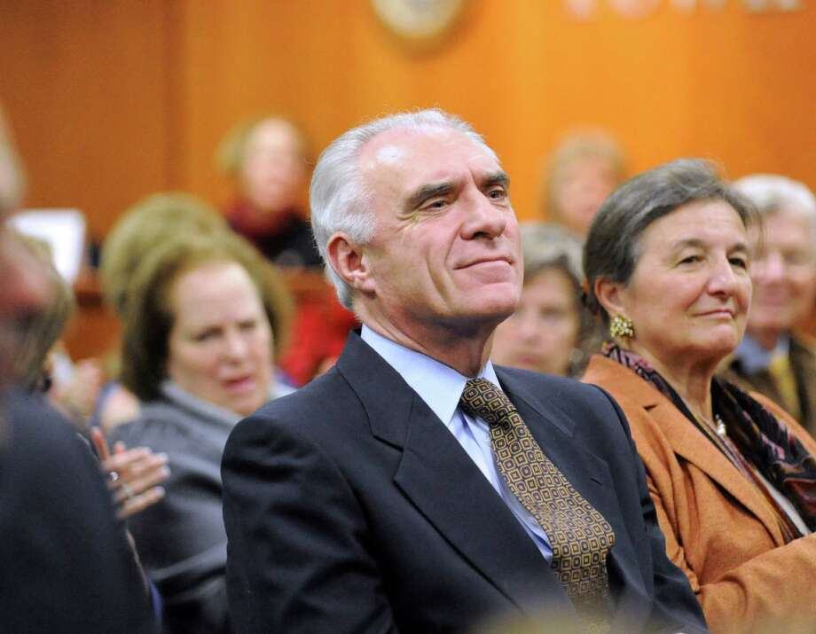 John Blankley, the Greenwich Democrat who waged an unsuccessful campaign to unseat First Selectman Peter Tesei last fall, will challenge State Rep. Livvy Floren in the House's 149th district, Blankley announced Tuesday, May 15, 2012. Photo: Bob Luckey / Greenwich Time