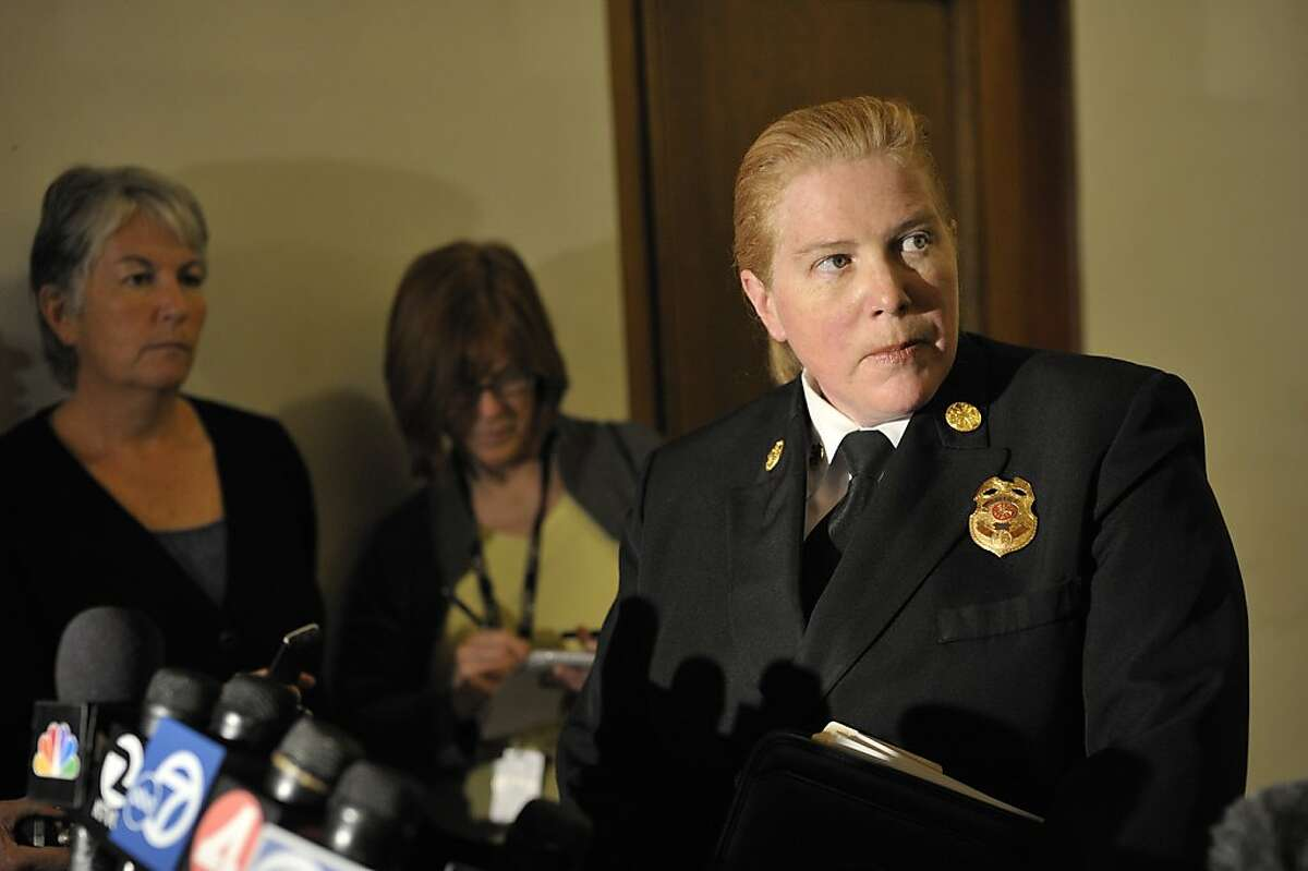 According to S.F.'s Department of Human Resources, Fire Fhief Joanne Hayes-White made $320,816 in the 2012-13 fiscal year.