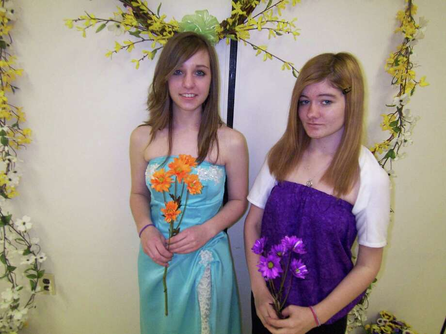LINDA TRIPP  Meagan Chittenden, Teen Ambassador 4-H Club, and Sierra Dexheimer, Spencertown Pathfinders 4-H Club, have been selected for the State Fair?s 4-H fashion revue. They sewed for themselves and received blue ribbons.