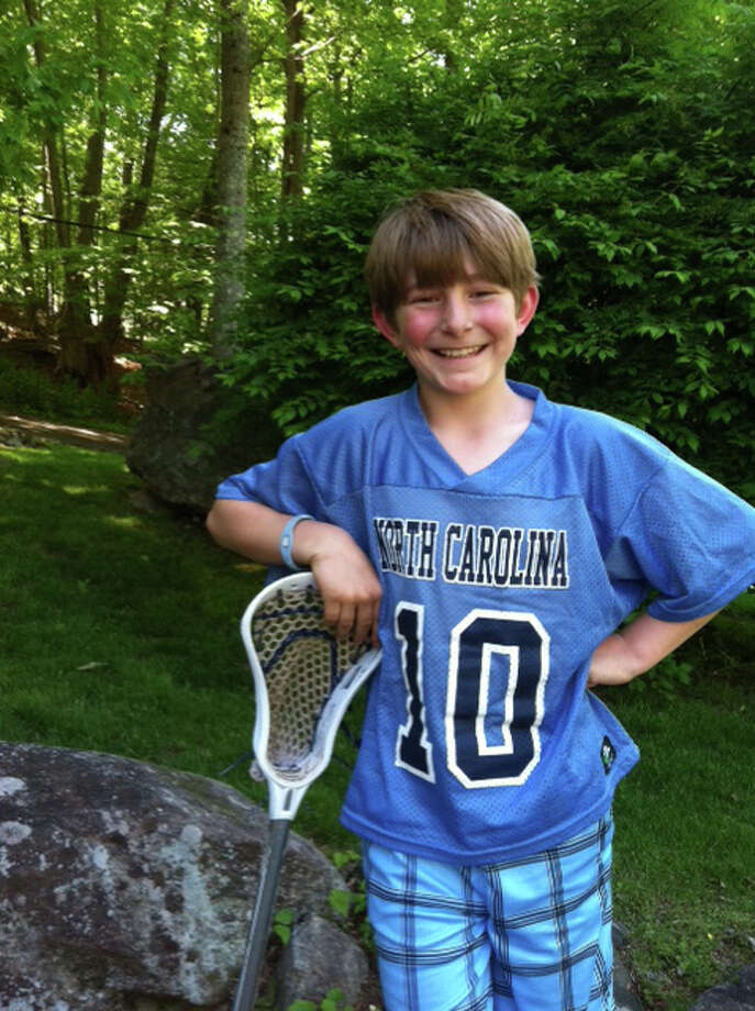 New Canaan resident Hayden Critchell hopes to raise $8,500 for the Make-A-Wish foundation. May 18, 2012 Photo: Contributed Photo