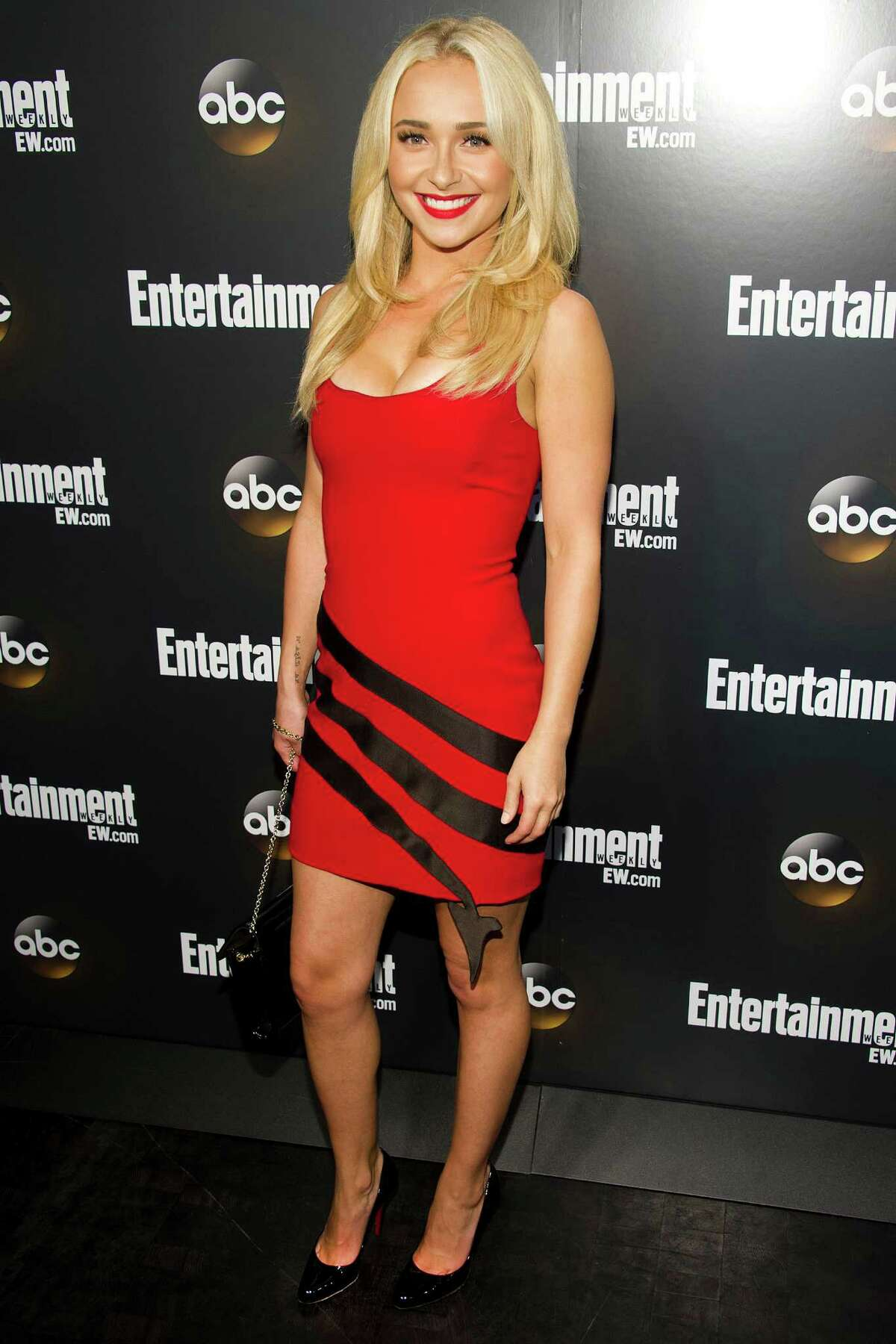 Hayden Panettiere attends the Entertainment Weekly and ABC Upfronts Party in New York, Tuesday, May 15, 2012.