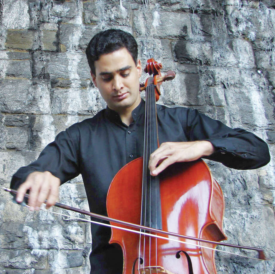 Cellist Raman Ramakrishnan will perform with violinist Jesse Mills and violist Masumi Per Rostad as members of the Gavin Trio Sunday, May 20, at the Westport Arts Center. Photo: Contributed Photo