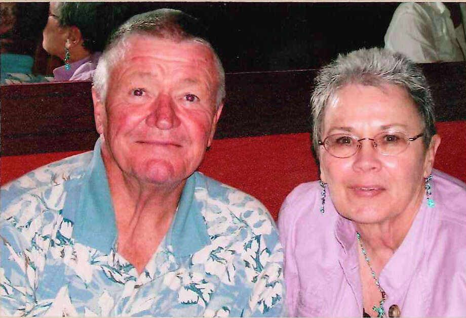 NOW: Harry Huggins and Patricia Gresham Lalla was taken in Progresso, Mexico dining at Autoros Restaurant on March 12, 2005 Photo: COURTESY