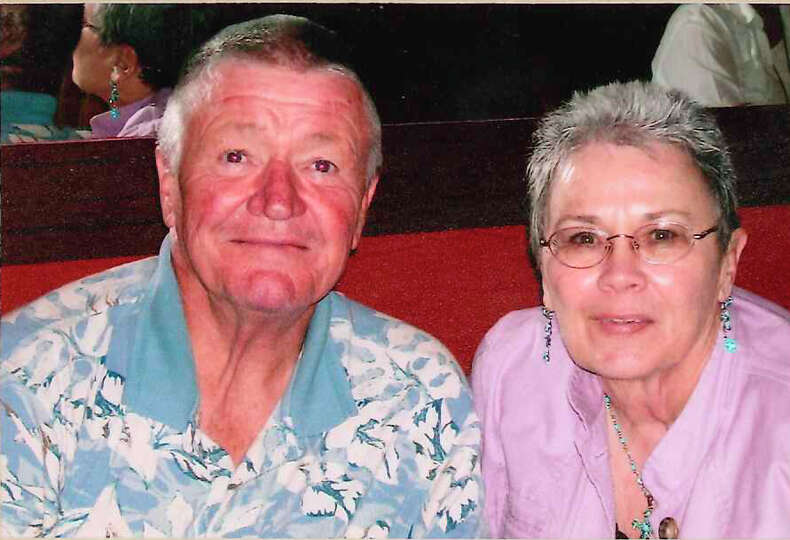 NOW: Harry Huggins and Patricia Gresham Lalla was taken in Progresso, Mexico dining at Autoros Resta