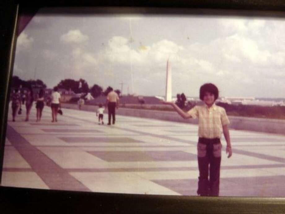 Then: Tony Segura, Washington, DC, 1968 Photo: Picasa, COURTESY