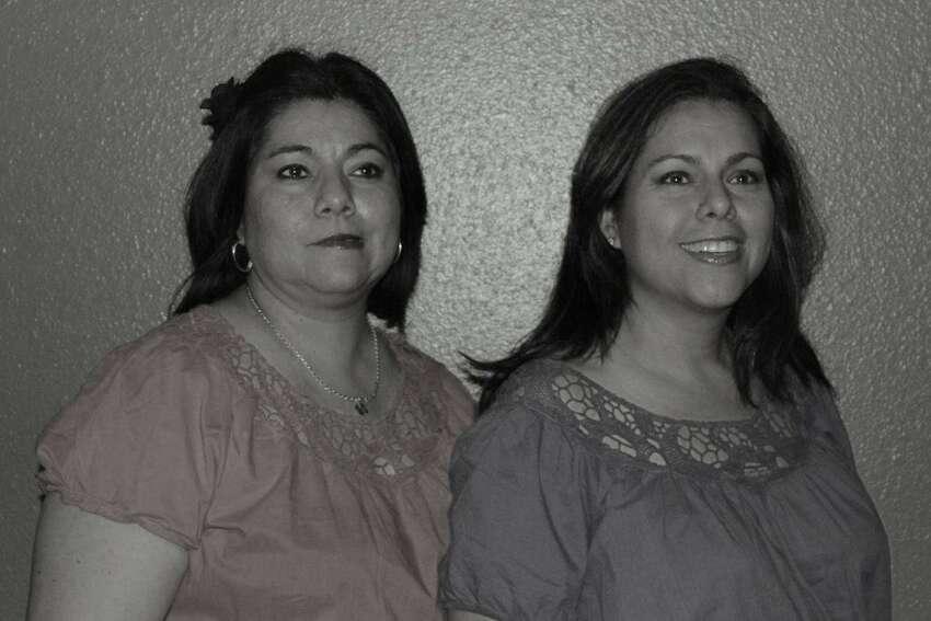 Sisters Sandra Silva Costilla and Synthia Silva Avila, 2012