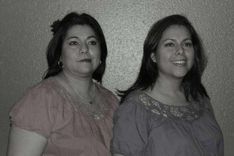 NOW: Sisters Sandra Silva Costilla and Synthia Silva Avila in San Antonio, 2012. From Synthia: Not o