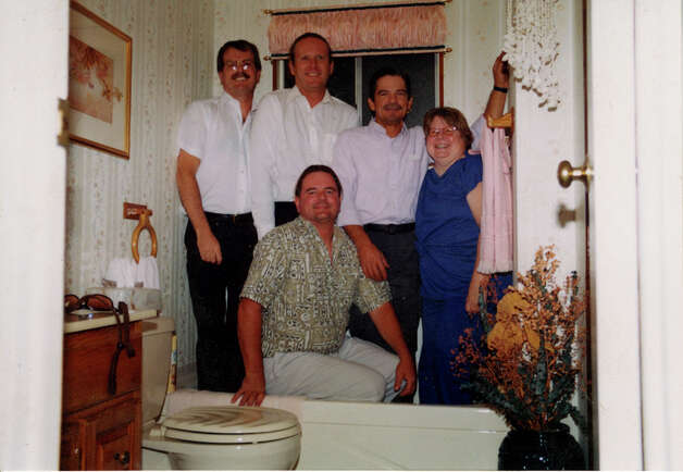 Kevin Kaul (from left), Alan Kaul, Byran Kaul, Bruce Kaul and Leslie Kaul in 1999. Photo: COURTESY