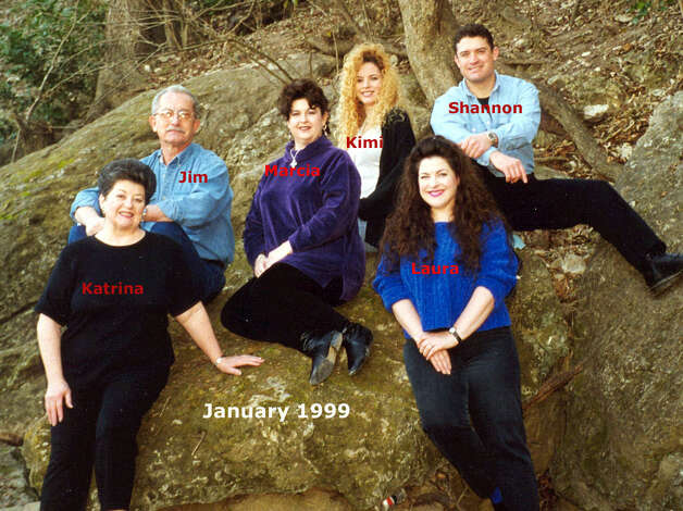 THEN (AGAIN): The Piper family in 1999 on Cibolo Creek in Universal City Photo: COURTESY