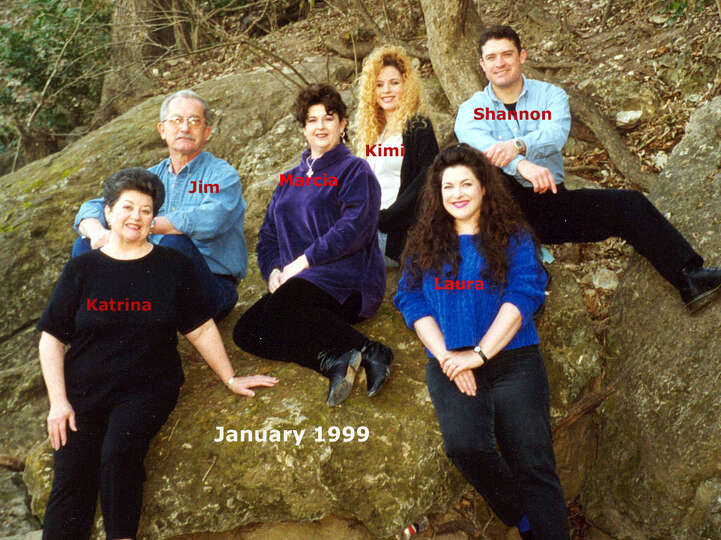 THEN (AGAIN): The Piper family in 1999 on Cibolo Creek in Universal City