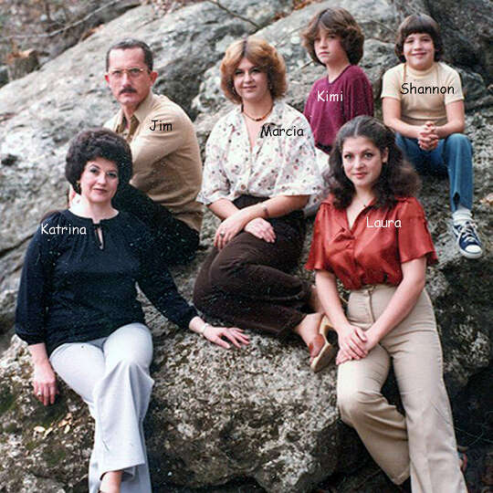 THEN: The Piper family in 1979 on Cibolo Creek in Universal City