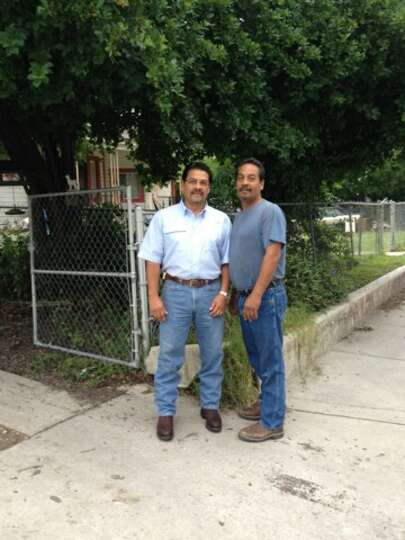 NOW: Fabian Castillo, Sr., 49, and Ray Castillo Jr., 51 in 2012.