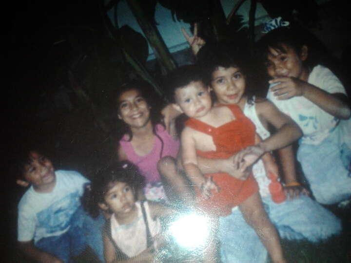 THEN: Gilbert Casarez (from left,) Erica Collazo, Michelle Casarez, Daniel Casarez, Jennifer Casrez