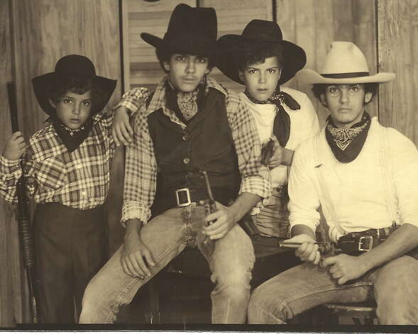 THEN: 1981, The Colera Gang. (L to R) Marc Valera, Bob Colera, Dave Colera, Mike Colera Photo: COURTESY